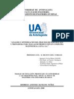 Análisis y Optimización Del Proceso de Perforación y Tronadura en CML