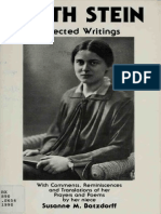Edith Stein _ Selected Writings, With Comm - Stein, Edith Saint, 1891-1942