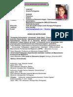 Resumen Curricular Actual 2014 Soraima Manrique
