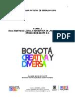 Cartilla Identidad Ludica y Recreativa de Las Poblaciones Etnicas de Bogota d.c