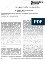 Sexually Dimorphic Genes Regulate Healing and Regeneration in MRL Mice