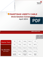 2014.04.29 Paketisasi UseeTV Cable