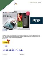 LG G2  -Hargahot