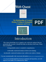 Components of Distinguishable Language