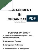 Management in Organization