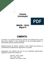 Apuntes Não Metalicos MIN238 2010 I Cimento