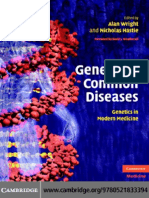 Wright - Genes and Common Diseases (Cambridge, 2007)