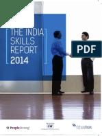 CII-IndiaSkillReport2014