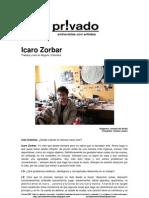 Privadoentrevistas Icaro Zorbar