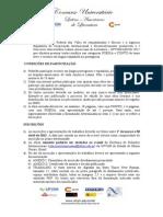 EDITAL - I Concurso Universitario Latinoamericano de Literatura - UFVJMAECID 2012