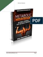 Metabolic Meatheads Program