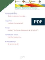 Unidad I Concepto y Clasificacion de Auditoria Mcfc