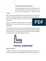 Beneficios de Medir La Productividad a Nivel Sector Industrial
