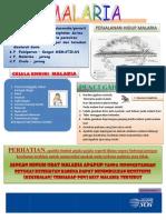 penanganan dan pencegahan malaria