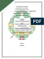 Universidad de Panama Trabajo Casiano