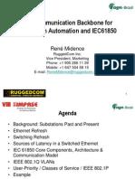 16h30 - PALESTRA - Aplicações de Comunicação Em Redes - René Midance