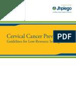 Cervical Cancer Case Study