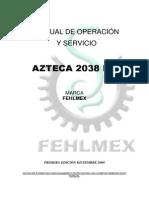 Manual Fhelmex 2038