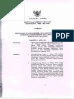 Harga Satuan Kota Kupang 2013