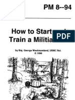 RBG -How to Start & Train a Militia Unit - PM 8--94