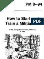 RBG -How to Start & Train a Militia Unit - PM 8--94