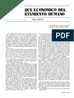 Becker_El Enfoque Económico Del Comportamiento Humano