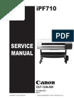 Canon IPF 710 Service Manual