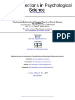 Psychosocial Behavioral and Biological Aspects of Chronic Diseases by Neil Schneiderman