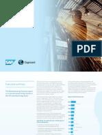 Cognizant SAP Manufacturing Success Report 2014