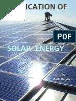 Application of Solar Energy