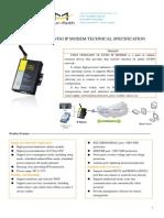 f2603 Cdma2000 1x Evdo Ip Modem Specification