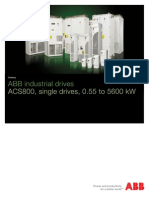 ACS800 Technical Brochure