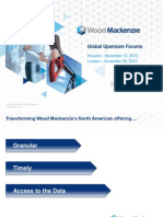 Wood Mackenzie Global Upstream Forums November 2013