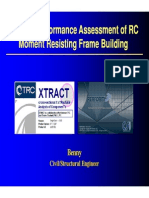 Seismic Performance Assesment of Moment Resisting Rc Frame Building by Benny