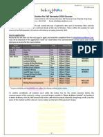 August 21 Fall Application Form Final