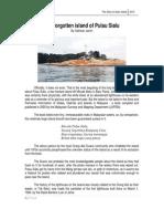 Pulau Sialu History
