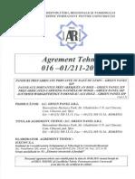 SIP Agrement Tehnic Green Panels