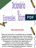 dicionário de expressões idiomáticas