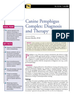 CANINE-Canine Pemphigus Complex-diagnosis and Therapy