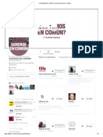Primeiros seguidores de OURENSE en COMÚN (@Ourenseencomun) en Twitter