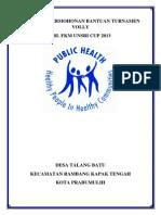 Cover Proposal Permohonan Bantuan Turnamen Volly