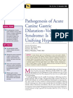 CANINE-PAthogenesis of Acute Canine Gastric Dilatation-Volvulus Syndrom