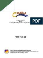 Trainee's Manual - LF