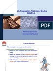 Radio Propagation Theory and Models ISSUE1.0