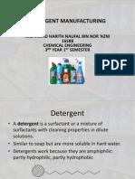 Detergent Manufacturing