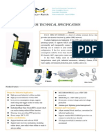 f2114 Gprs Ip Modem Technical Specification