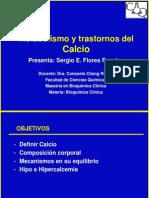Metabolismo Del Calcio - Trastornos - Sergio Flores