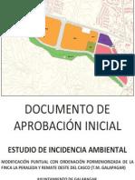Estudio de Incidencia Ambiental finca La Peraleda, Galapagar