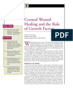 Corneal Wound Healing and the Role of Growth Factors