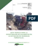 Guía Técnica para la investigación de accidentes en la extinción de Incendios Forestales
